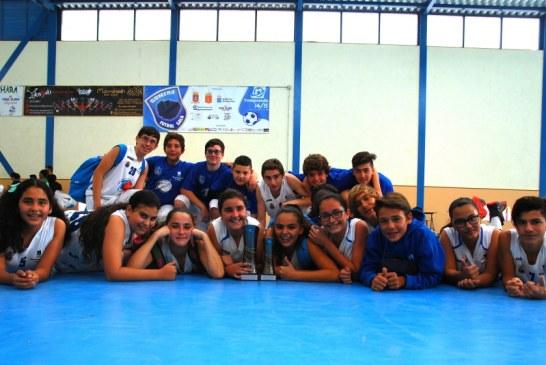 El EMB Adeje, gran triunfador del I Torneo de Baloncesto Infantil Isla de La Gomera