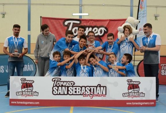 El CB 7 Palmas triunfa en el III Torneo Minibasket Masculino San Sebastián de La Gomera