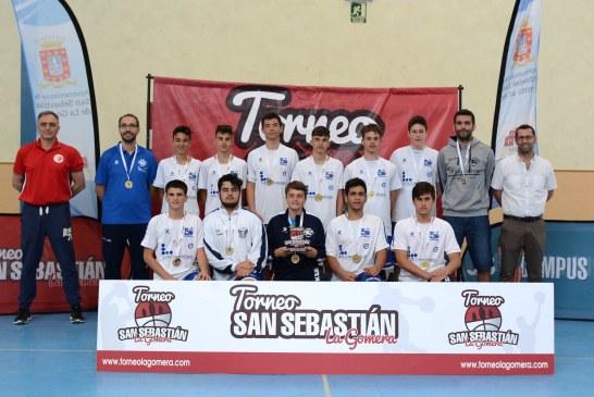El CB San Isidro, campeón del II Torneo de Baloncesto Cadete San Sebastián de La Gomera