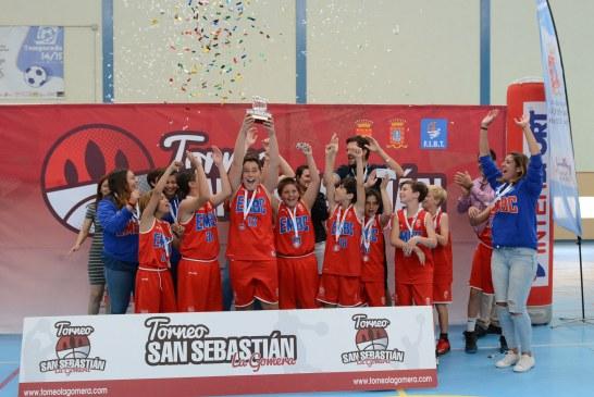 La EMB Candelaria, protagonista del Torneo Minibasket San Sebastián de La Gomera