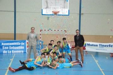 El CB Agüimes, nuevo campeón del 'II Torneo Infantil masculino San Sebastián de La Gomera'